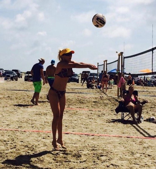 Adair Miller Spinks beach volleyball