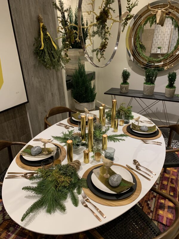 Holiday Table Top Ideas